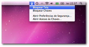 Icone de status do Acesso às Chaves