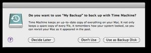 Selecionar disco de backup