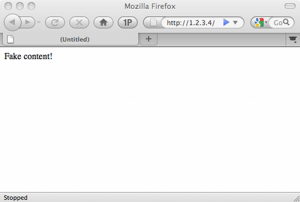 Teste de vulnerabilidade no Firefox