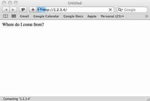 Teste de vulnerabilidade no Safari